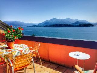 Sunny Condo with Balcony and Water Views - Belgirate vacation rentals