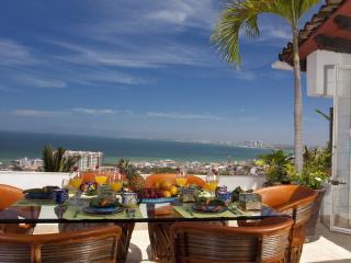 CASA LOUISA -  3 bedroom, 3 bath, pools, views - Puerto Vallarta vacation rentals