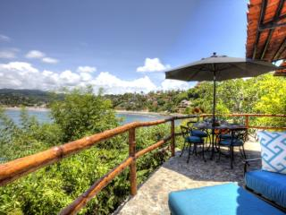 LOVE NEST - Large beachfront studio, views, pool - Nayarit vacation rentals