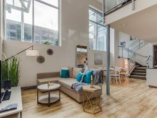 Dog-friendly designer condo with a loft, sky lounge & gym, near downtown! - Seattle vacation rentals
