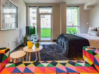 Downtown dog-friendly studio with a private balcony - close to everything! - Seattle vacation rentals