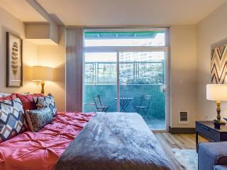Modern, studio-style condo w/kitchen, perfect for two. Dog-friendly! - Seattle vacation rentals