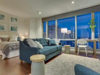 Chic studio-style condo downtown w/ city views - dogs OK! - Portland vacation rentals