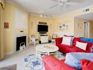 Breezy beach condo with a fitness room, balcony & seasonal rooftop pool! - Ocean City vacation rentals