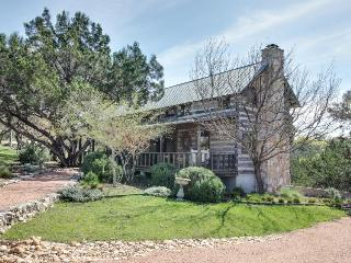Relaxing and rustic, dog-friendly cabin w/ large porch & wood-burning fireplace - Fredericksburg vacation rentals