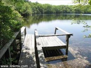 Private retreat on beautiful Ice House Pond - West Tisbury vacation rentals