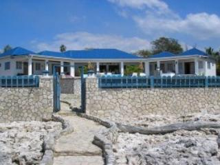 Back of home - Blue sky villa,Luxury house on the cliffs & SEA - Negril - rentals