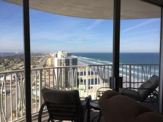 Outstanding Ocean Views - Peck Plaza 25NW - Daytona Beach Shores vacation rentals