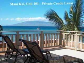 Maui Kai #201 ROOF TOP LANAI OCEAN CORNER UNIT - Kaanapali vacation rentals