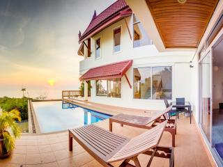 Beachview Villa Private Pool - 6BR - Temple House - Ko Lanta vacation rentals