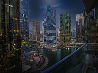 Spectacular view from deluxe apartment - Dubai vacation rentals