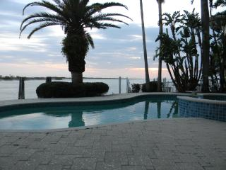 Luxurious Waterfront Home With Pool - Tierra Verde vacation rentals