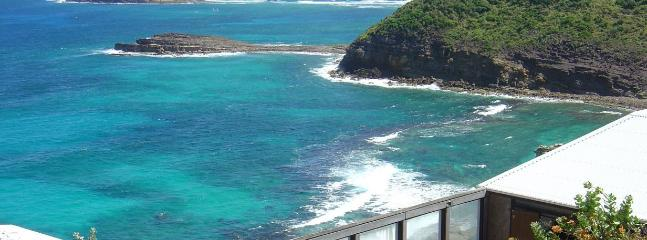 Cliffside location in Pointe Milou - Image 1 - Saint Barthelemy - rentals