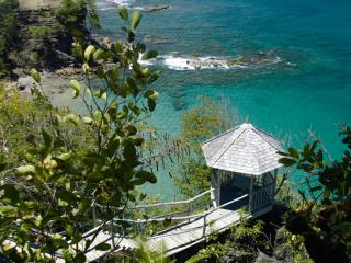 Beautiful 2 Bedroom Villa Cliffside Location With Dramatic Views Out To Sea - Cap Estate vacation rentals