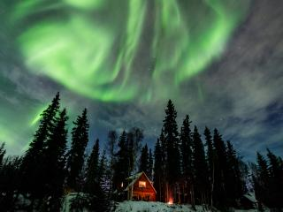 Private, Waterfront Cabin with Aurora & Wildlife - Fairbanks vacation rentals