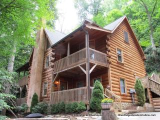 Custom Cabin*Walk to River*HotTub*Gametables*AC - Valle Crucis vacation rentals