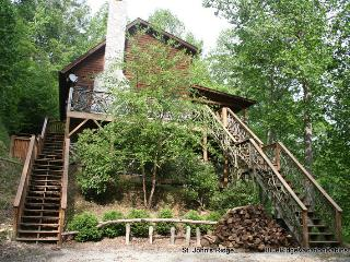 Private Log Cabin*Hot Tub*Firepit*Walk to River*AC - Banner Elk vacation rentals