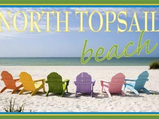 NC beach front condo, near Camp Lejeune - North Topsail Beach vacation rentals