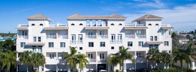 Front of Townhouse - Luxury Clearwater Beach Home with Rooftop Terrace - Clearwater - rentals
