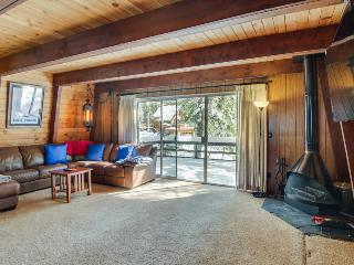 Classic dog-friendly cabin with a private beach park & docks, close to skiing! - Tahoe City vacation rentals