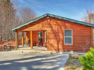 New Listing! Delightful 2BR Lake Arrowhead Cabin w/Wifi, Gas Fireplace & Private Patio! Tranquil Views of the River! Awesome Location - Close to Hiking, Skiing, Lake Arrowhead Village & More - Lake Arrowhead vacation rentals
