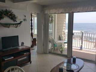 Oceanfront Condo Directly On Beach! - Normandy Beach vacation rentals