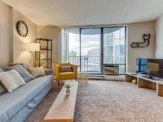 Spacious downtown condo w/ pool, steps to Convention Center! - Seattle vacation rentals