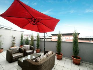 Bright 2 bedroom Penthouse in Zagreb with Internet Access - Zagreb vacation rentals