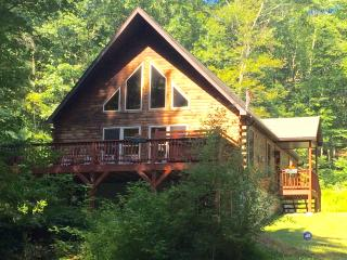 Chalet with Pond, Fireplace, Hot Tub, and WiFi - Dingmans Ferry vacation rentals