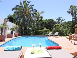Beachside modern family Villa heated pool large outdoor area and amazing garden - Elviria vacation rentals