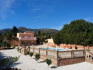 Villa with private pool, sea view, A/C, WiFi, BBQ - Malaga vacation rentals