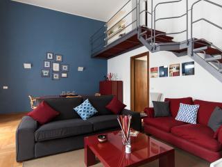 FANCY BLUE DUOMO DUPLEX APARTMENT - Milan vacation rentals