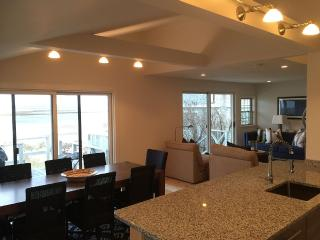 Modern-Nautical Open Concept Beachfront Cottage; - Plum Island vacation rentals