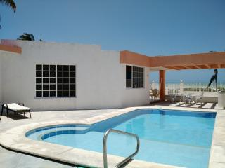 Caglez Beachfront house with Pool & WiFi Internet - Progreso vacation rentals