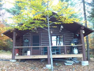 Secluded Off Grid Log Cabin - Amazing Mountain Views! Hike, ATV, Kayak! - Andover vacation rentals