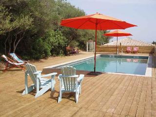 La poussada, cottage écologique, vue mer - La Palme vacation rentals