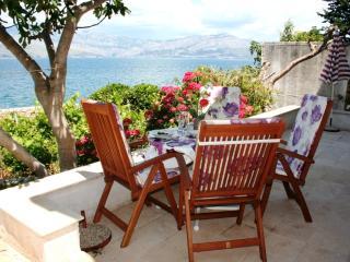 A 10 meter walk to the Beach through the Garden, with Stunning Sea View Terraces - Splitska vacation rentals