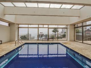 Shared indoor & outdoor pools, walk to Playa de Renaca! - Vina del Mar vacation rentals
