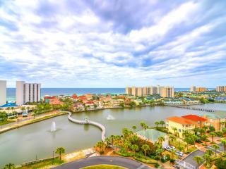 Pelican Beach Terrace 1103-2BR-AVAIL8/18-24-RealJOYFunPass*FREETripIns4NEWFallBkgs*GulfViews - Destin vacation rentals