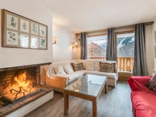 Cozy Apartment in Meribel with Balcony, sleeps 6 - Meribel vacation rentals