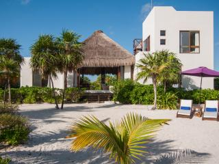 Luxury beachfront villa in Sian Kaan, Tulum - Punta Allen vacation rentals