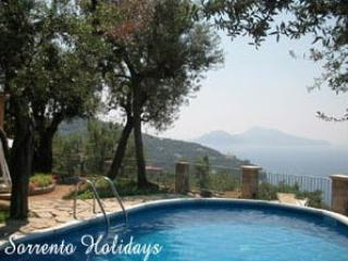 Perfect 2 bedroom Apartment in Massa Lubrense with A/C - Massa Lubrense vacation rentals