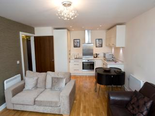 Stylish Modern One-bed Apartment in Quiet Square - Newcastle upon Tyne vacation rentals