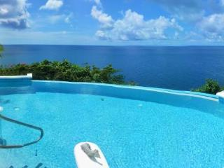 Cliffside 2 Bedroom in Cap Estate, Very Private, Stunning Ocean Views - Cap Estate vacation rentals