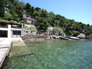 Villa with garden and private beach - Grignano vacation rentals