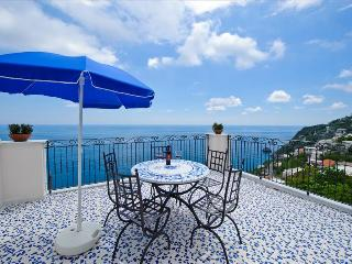 PR136-Beautiful Villa with Swimming pool, BBQ, garden and Sea View - Praiano vacation rentals