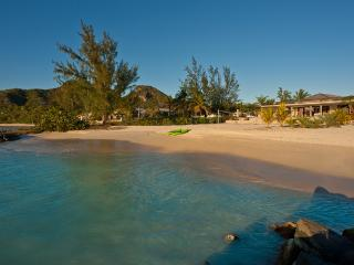 Sand Castle - Luxury Beach House in Jolly Harbour, Antigua - Beachfront, Gated Community, Pool - Jolly Harbour vacation rentals