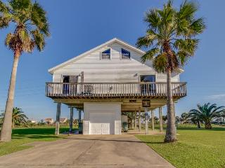 Remodeled oceanview house w/ wrap-around balcony, close to the beach - Galveston vacation rentals