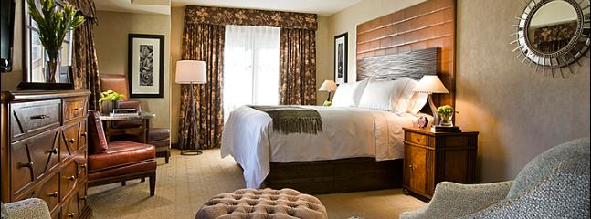 Room Features a King Bed and Flat-Screen TV (Representative Photo) - Spacious Hotel Room - Pet-Friendly Accommodations (6670) - Telluride - rentals