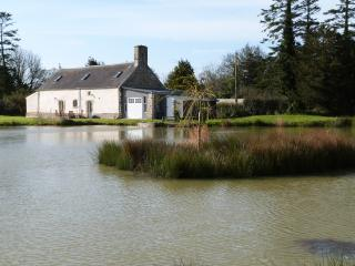 House with private fishing lake in Manche Normandy - Varenguebec vacation rentals